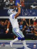 Dak Prescott Autographed Dallas Cowboys 16x20 Pointing Up *Silver PF Photo- JSA W Auth/Holo