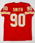 Neil Smith Autographed Red Pro Style Jersey- JSA W Authenticated