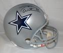 Jason Witten Autographed *Black F/S Silver Dallas Cowboys Helmet- JSA W Auth