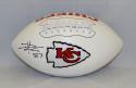 Travis Kelce Autographed Kansas City Chiefs Logo Football- JSA W Authenticated