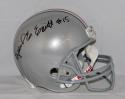 Ezekiel Elliott Autographed Ohio State Buckeyes F/S Riddell Helmet- JSA W Auth