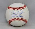 Cal Ripken Jr Autographed Rawlings OML Baseball W/ Hall of Fame- JSA W Auth