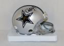 Dat Nguyen Autographed *Black Dallas Cowboys Mini Helmet- JSA W Authenticated