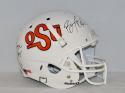Barry Sanders Thurman Thomas Signed Oklahoma State Cowboys F/S Helmet- JSA W Auth