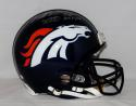 Von Miller Autographed Denver Broncos Full Size ProLine Helmet W/ SB 50 MVP- JSA W Auth
