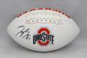 Joey Bosa Autographed Ohio State Buckeyes Logo Football- JSA W Auth