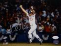 Kirk Gibson Autographed Los Angeles Dodgers 8x10 Arms In Air Photo- JSA W Auth