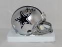 Sean Lee Autographed Dallas Cowboys Mini Helmet- JSA Witnessed Auth