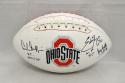 Griffin George Smith Signed Ohio State Buckeyes Logo Football W/ H.T.-JSA W Auth