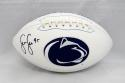 Sean Lee Autographed Penn State Nittany Lions Logo Football- JSA Witnessed Auth
