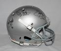 Smith Griffin George Autographed Ohio State F/S Schutt Helmet W/ H.T.-JSA W Auth