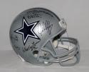 Doomsday Defense Autographed Dallas Cowboys F/S Helmet W/6 Sigs- JSA W Auth