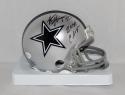 Alvin Harper Autographed Dallas Cowboys Mini Helmet W/ SB CHAMPS- JSA W Auth