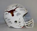 2005 National Champions Autographed UT Longhorns F/S Riddell Helmet- JSA W Auth