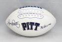 Tony Dorsett Autographed Pittsburgh Panthers Logo Football W/ Heisman-JSA W Auth