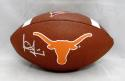 Vince Young Autographed Texas Longhorns Wilson Logo Football- JSA Witnessed Auth