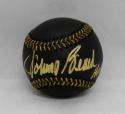 Johnny Bench Autographed Rawlings OML Black Baseball W/ HOF- JSA Witnessed Auth