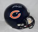 Mike Singletary Autographed Chicago Bears F/S Helmet W/ HOF- JSA W Auth *WHITE