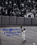 Reggie Jackson Autographed Yankees 16x20 Tipping Hat Photo W/ WS HRS- JSA W Auth