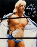 Ric Flair Autographed 16x20 Open Robe Photo- JSA Witnessed Authenticated