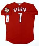 Craig Biggio Signed Houston Astros Red Authentic Majestic Jersey- TriStar Auth