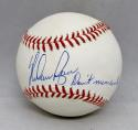 Nolan Ryan Autographed Rawlings OML Baseball W/ Dont Mess With Texas- JSA Auth