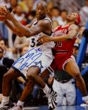 Shaquille O'Neal Signed Orlando Magic 16x20 Against Rodman Photo- JSA W Auth