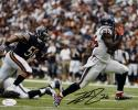 Lamar Miller Autographed *Black Houston Texans 8x10 Running Photo- JSA W Auth