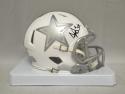 Dak Prescott Autographed Dallas Cowboys ICE Alternate Mini Helmet- JSA W Auth
