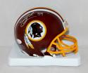 Santana Moss Autographed Washington Redskins Mini Helmet- JSA Witnessed Auth