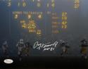 Paul Hornung Signed Green Bay Packers 8x10 Scoreboard Photo With HOF- JSA W Auth