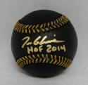 Tom Glavine Autographed Rawlings OML Black Baseball W/ HOF-PSA/DNA Authenticated