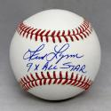 Fred Lynn Autographed Rawlings OML Baseball With All Star- JSA Witnessed Auth