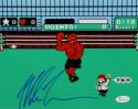 Mike Tyson Autographed 8x10 Nintendo Knock Out Photo- JSA Witnessed Auth