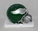 Randall Cunningham Signed Philadelphia Eagles 74-95 TB Mini Helmet- JSA W Auth