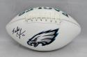 Randall Cunningham Autographed Philadelphia Eagles Logo Football- JSA W Auth