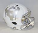 JJ Watt Autographed Houston Texans Full Size ICE Speed Helmet- JSA W Auth