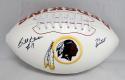 Billy Kilmer Signed Washington Redskins Logo Football W/ 70 Greatest- JSA Auth