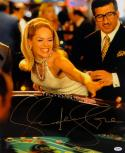 Sharon Stone Autographed Casino 16x20 Playing Craps Photo- PSA/DNA Auth