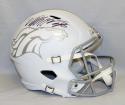 Von Miller Autographed Denver Broncos Full Size ICE Speed Helmet- JSA W Auth