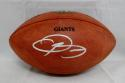Odell Beckham Autographed NFL Game Issued Giants Football- JSA Authenticated