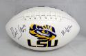 Bert Jones Autographed LSU Tigers Logo Football With Ruston Rifle- JSA W Auth