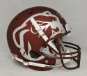 Dak Prescott Autographed F/S Mississippi State Bulldogs Maroon Helmet-JSA W Auth