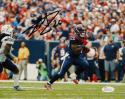 Lamar Miller Autographed *Black Texans 8x10 Against Chargers Photo- JSA W Auth