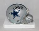 Alvin Harper Autographed Dallas Cowboys Mini Helmet- JSA Witnessed Auth