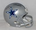 Bob Lilly Randy White Autographed Dallas Cowboys F/S Helmet With HOF- JSA W Auth