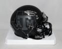 Johnny Manziel Signed *S Texas A&M Black Riddell Mini Helmet W/ HT- JSA W Auth