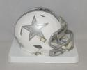 Deion Sanders Autographed Dallas Cowboys ICE Speed Mini Helmet- JSA W Auth *Top