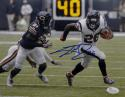 Lamar Miller Signed *Blue Houston Texans 8x10 Breakaway Run Photo- JSA W Auth