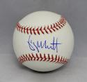 George Brett Autographed Rawlings OML Baseball- Beckett Authenticated